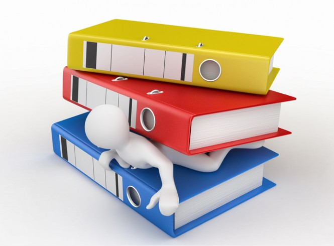 reduceer papierverbruike met DMS