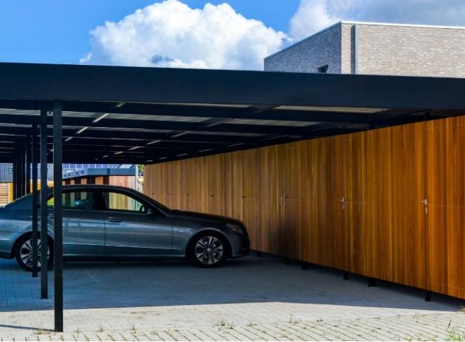 Carport door Koppen