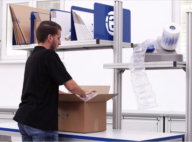 Ergonomische verpakkingsoplossingen door Storopack