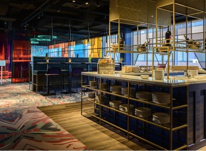 Lindner WTC Hotel & City Lounge Antwerp 12th Floor