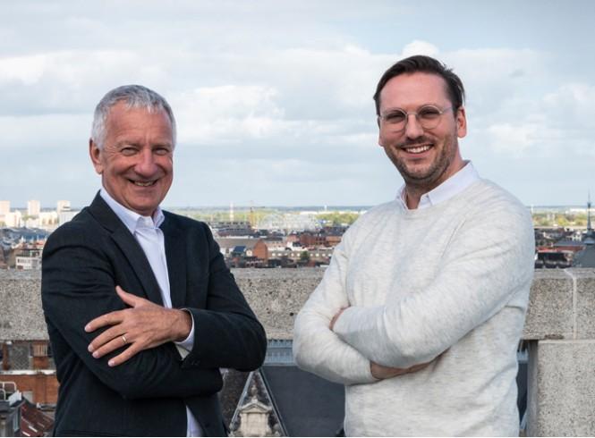 Theo Vaes en buddy Stijn Cockx