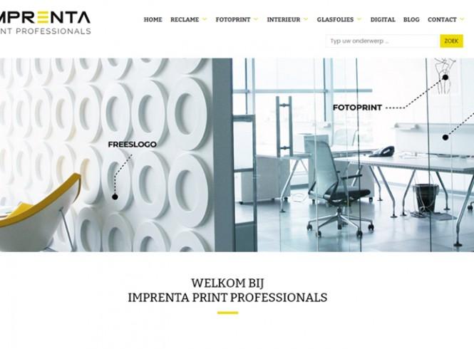 Nieuwe website Imprenta