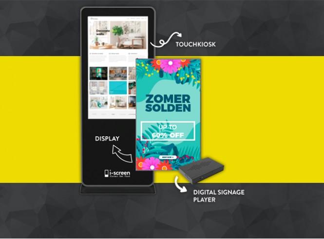 Digitale reclamedisplays: krachtige boodschappen afgestemd op de wensen van jouw bedrijf