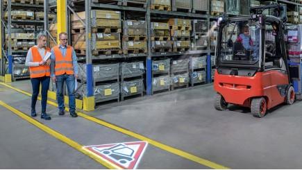 veiligheidsoplossingen voor op de werkvloer met Linde Connect