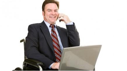 werken met een handicap of beperking