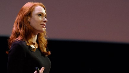 Hannah Fry at the Data of Tomorrow Conference 2017 - © Wikimedia Commons