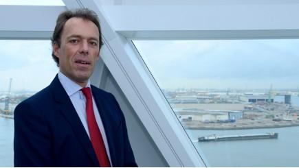 Jacques Vandermeiren, CEO Havenbedrijf van Antwerpen © Havenbedrijf van Antwerpen