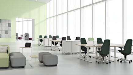 Duurzaam kantoormeubilair van Kinnarps