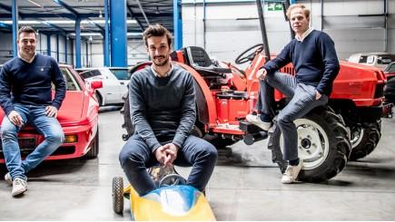 Oprichters Vavato: Kevin Van de Vyver, Pieterjan Van Emelen, Fons Tooten