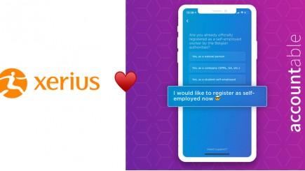 App Accountable in samenwerking met Xerius