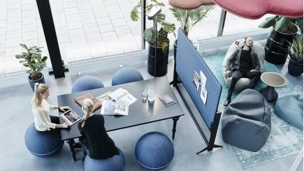 Akoestische panelen ergonomisch werken