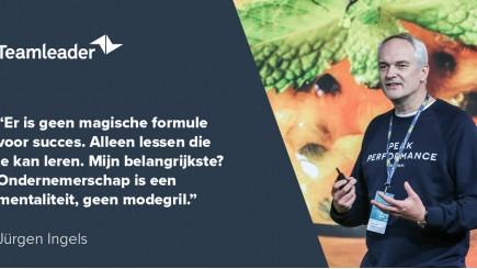 Jürgen Ingels op Work Smarter event