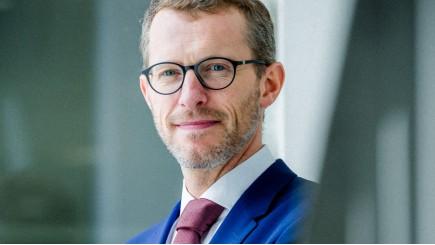 Christophe Cherry, Managing Director voor België en Luxemburg bij Atradius