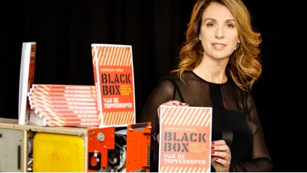 Kathleen Cools over haar boek Black Box