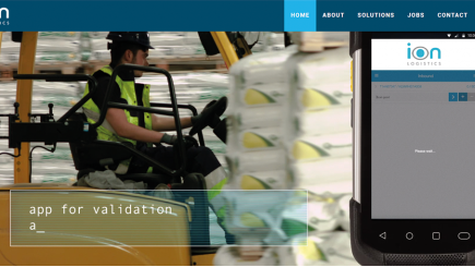 iOnLogistics new website