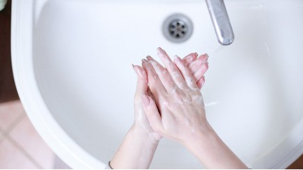 Stimuleer het handen wassen