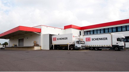 DB Schenker in Eupen