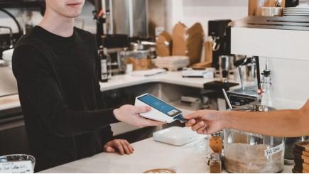 Extra krediet via een betaalterminal