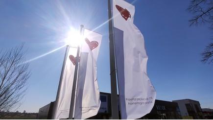 Witte vlaggen voor de zorg