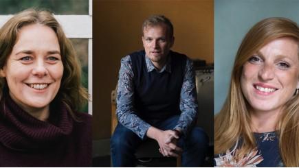 Carolien Boom, Jochen Roef en Jozefien de Feyter