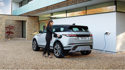 Jaguar Land Rover oplaadpaal