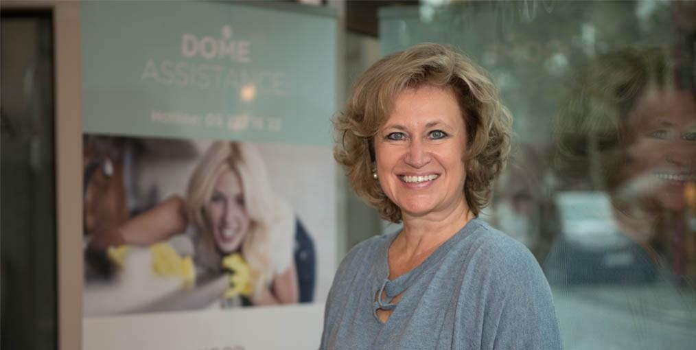 Erika Tuypens, CEO Dome Assistance dienstenchequebedrijf
