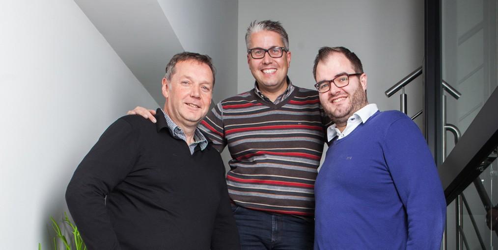 Maarten Avonts is de nieuwe vennoot bij acom naast Luc Geerts en Philip De Schutter