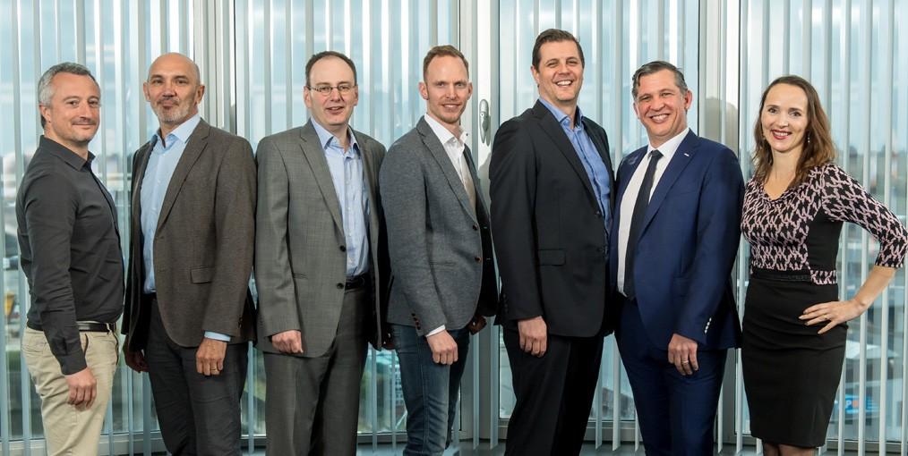 Het managementteam van COTW