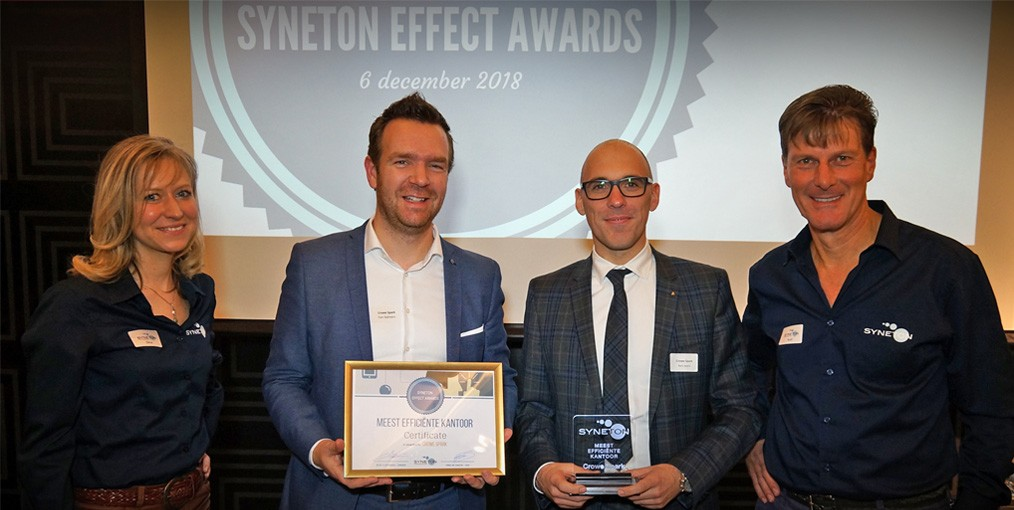 Syneton Effect Awards Crowe Spark