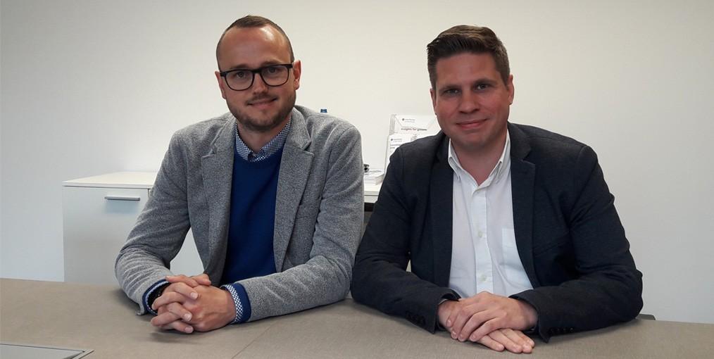 Tim Dausy en Jeroen Bouwsma van bedrijfsadviseur Grant Thornton