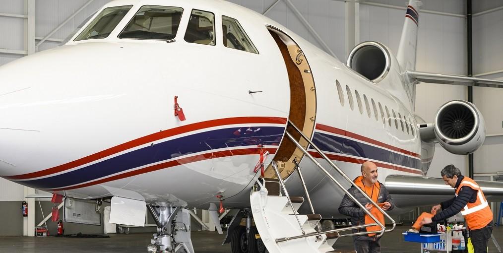 Onderhoud vliegtuigen en gebouwen