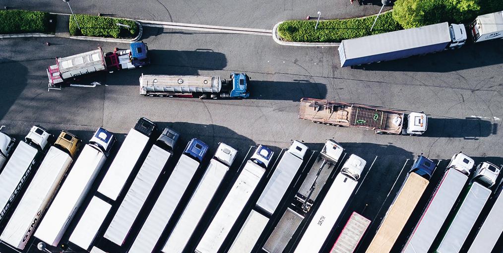 Truck verkeer