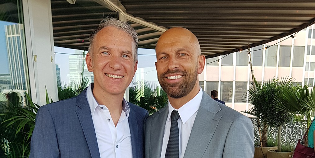 Bart Gekiere en Olivier Verstraete van B&O International Connections