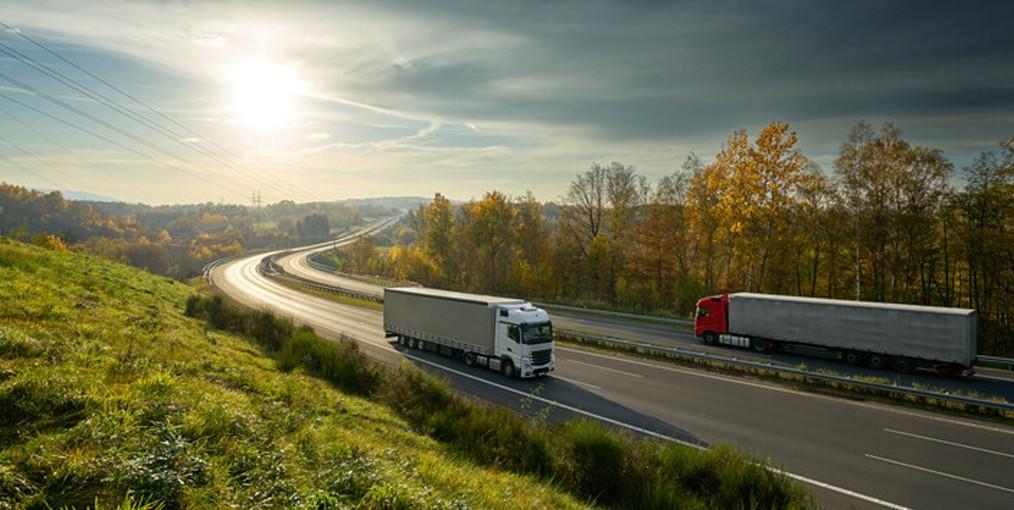 Zelfstandig vrachtwagenchauffeur