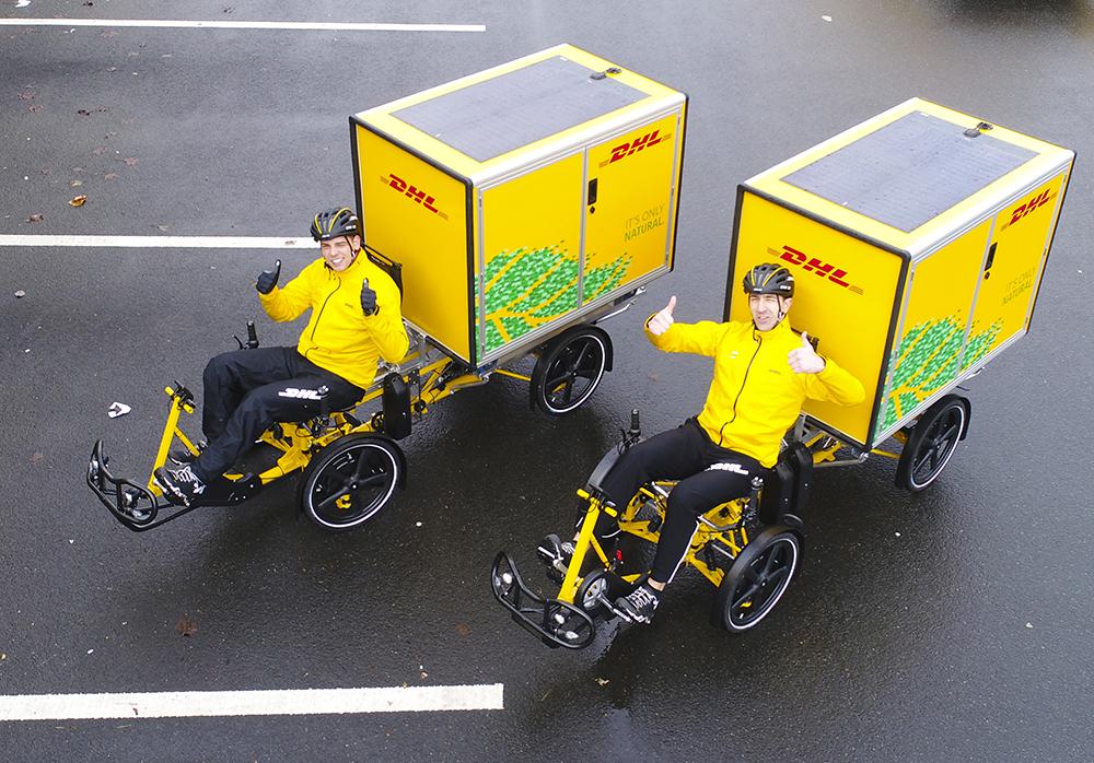 elektrische cargofietsen DHL