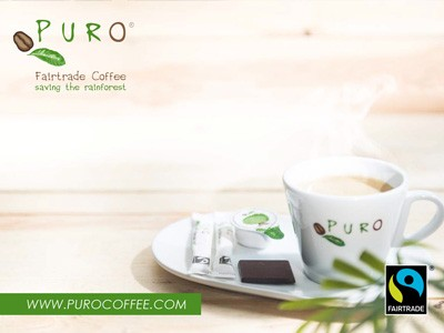 Puro Fairtrade-koffie