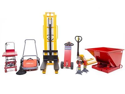 Material handling en magazijnuitrusting
