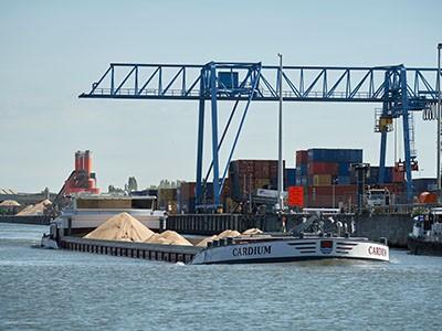 transport via waterweg